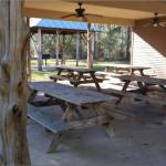 Picnic Pavilion at Mary Ann Brown Preserve near the Lake