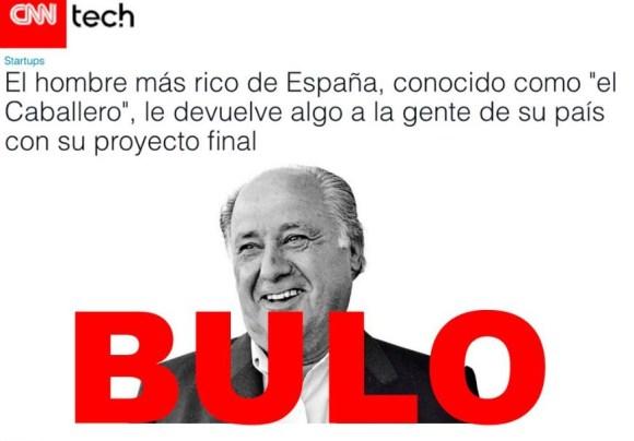 Amancio Ortega denuncia la campaña de fake news que lo vincula a las  criptomonedas