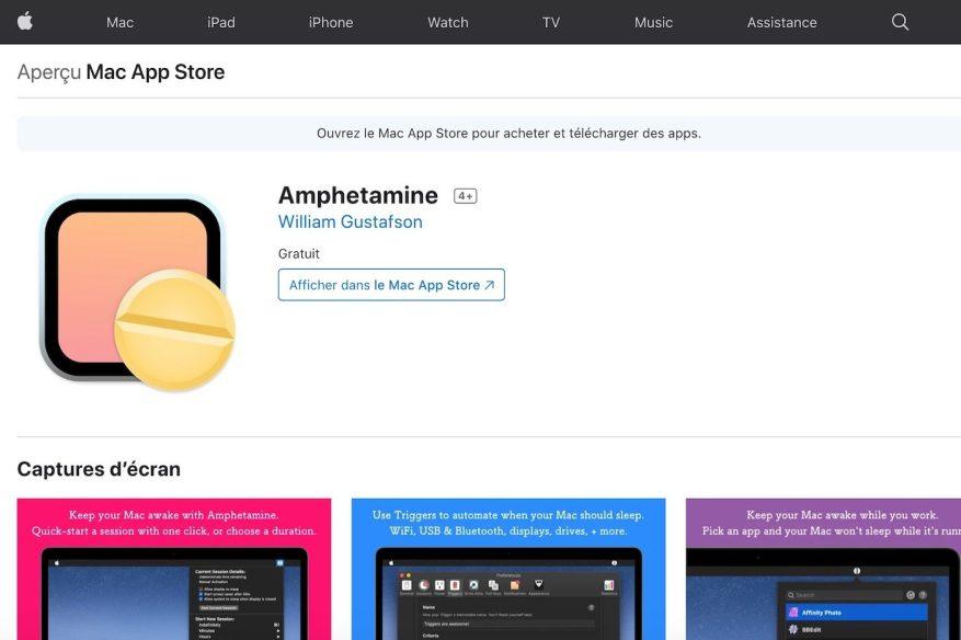 Mac App Store Amphetamin
