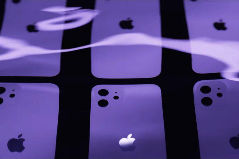 iPhone 12 violet Apple 2021
