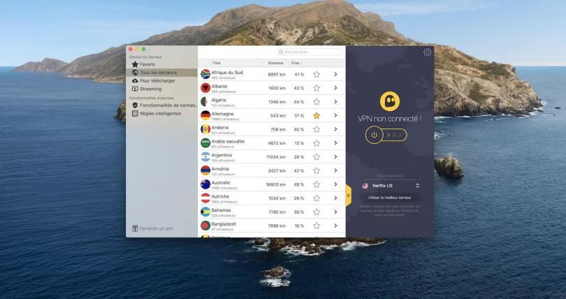 CyberGhost Mac app off