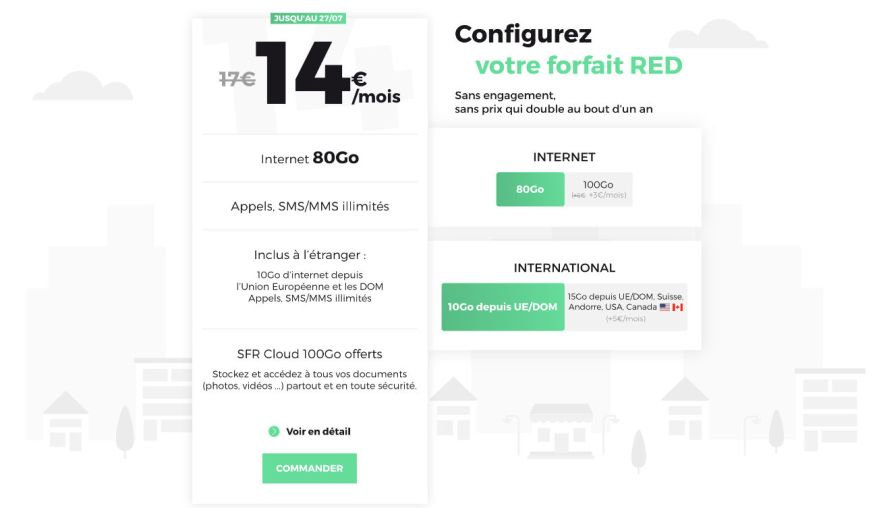 Unlimited 80 Gb Mobile Plan At Discounted Price Until Midnight At Red By Sfr Archyde