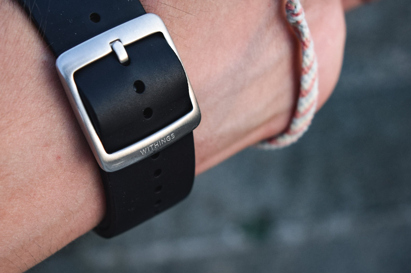 Withings ScanWatch bracelet