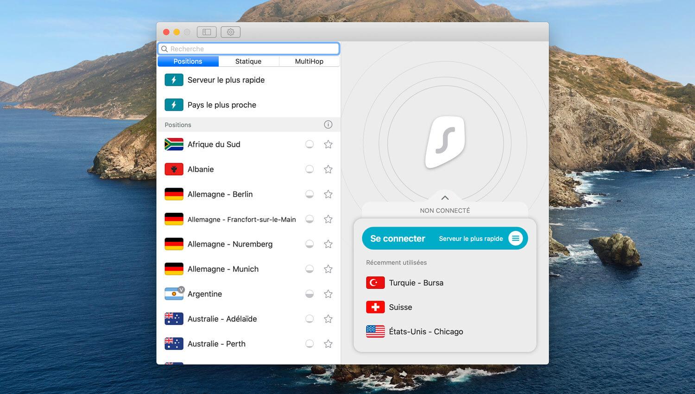 Surfshark VPN Mac