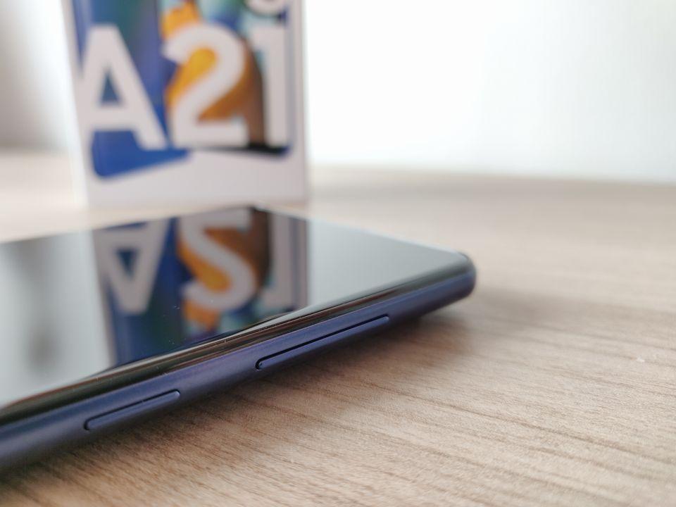 Test Samsung Galaxy A21s