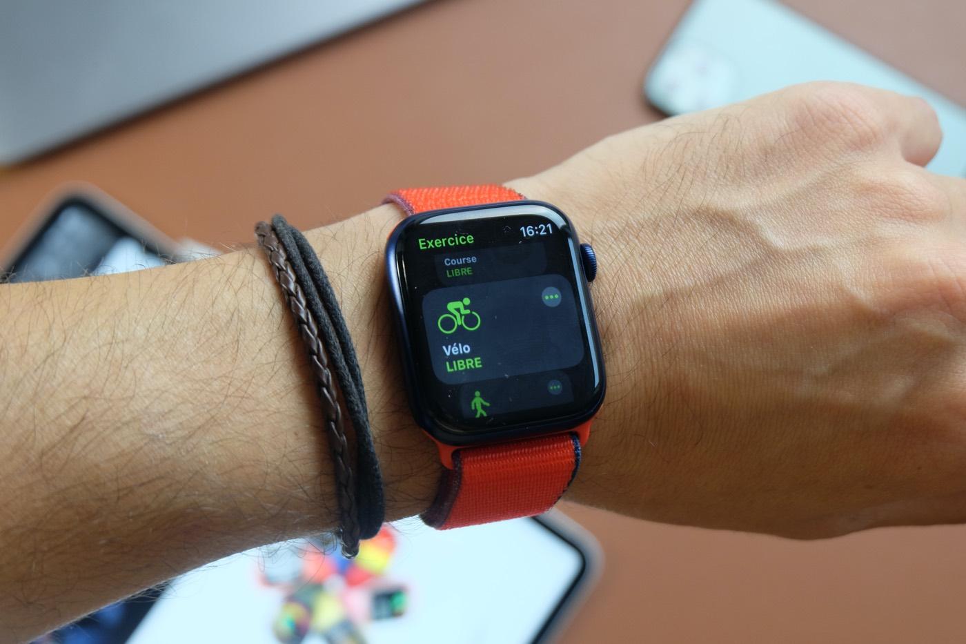 test apple watch series 6 sport