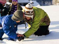 Keine Zeit für Winterschlaf: Das aktuelle Programm des Nationalparks hat besonders für Kinder wieder viel zu bieten.