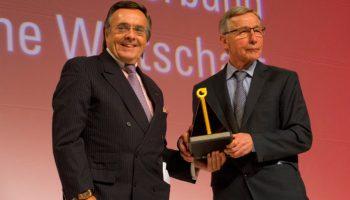 Mittelstand Digitalisierung Governance Mario Ohoven Estland Ehrenpreis Wolfgang Clement Jahresempfang Auszeichnung Verbände
