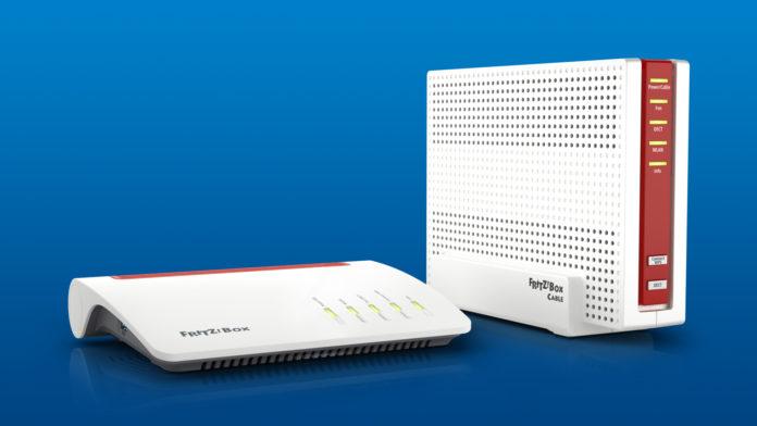 Neue FRITZ!Box-Spitzenmodelle für DSL und Kabel – Ausbau von FRITZ!WLAN mit Mesh-Komfort