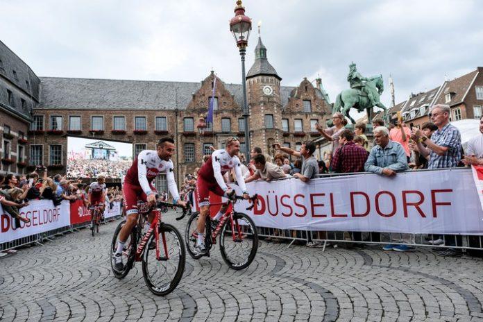 Sport,     Radsport,     Tour de France,     Grand Départ,     Düsseldorf