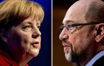 Kanzlercheck, Politik, Martin Schulz, Angela Merkel, Wahlen, Radio, Bundestagswahl, Medien, Medien / Kultur, Leipzig/Berlin