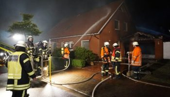 Schiffdorf-Spaden,Brand,Feuerwehr Schiffdorf