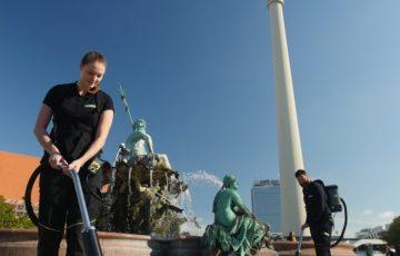 Bild, Umwelt, Messen, Kaugummientfernung, Kärcher, Veranstaltung, Panorama, CMS Berlin, Berlin