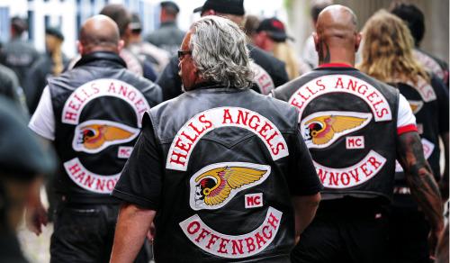 Düsseldorf,Polizei,Rocker,Hells Angels MC Concrete City,Clan 81 Germany