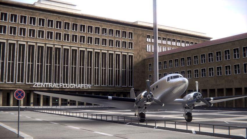 Obdachlose, Innenpolitik, Flughafen Tempelhof, Flüchtlinge, Politik, Fernsehen, Soziales, Berlin