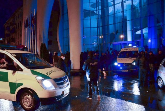 Hotelbrand ,Georgien, News, Batumi , Saal Mikeladse