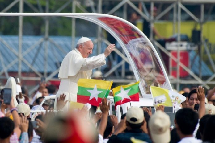 Katholiken Kirche Minglabar News Papst Franziskus Rangun