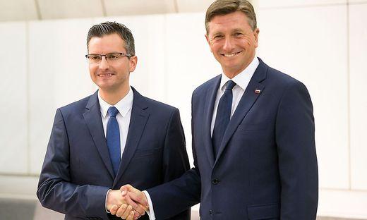 Außenpolitik;Politik,Slowenien ,Borut Pahor ,Marjan Sarec