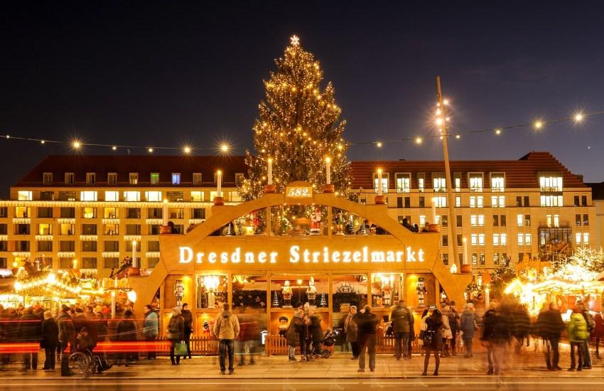 Dresden,Weihnachtsmarkt,Deutschland, Urlaub,Tourismus,Striezelmarkt