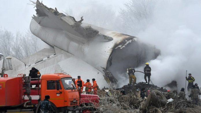 Almasbek Atambajew Berlin Flugzeugabsturz Kirgistan Kriminalität Luftverkehr Omurbek Tekebajew Politik Schmuggelware Unfall