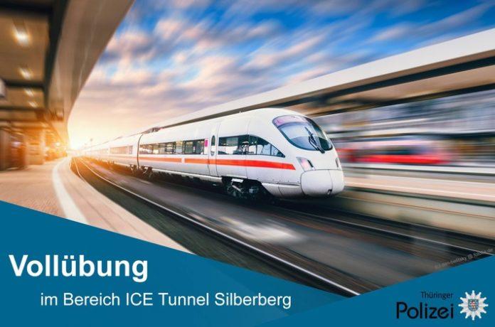 Großbreitenbach ,Silberberg,ICE Neubaustrecke Ebensfeld - Erfurt , ICE,Bahn, Tunnel Silberberg,News,Deutschen Bahn