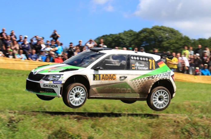 Motorsport, Sport, FABIA R5, Auto / Verkehr, Rallye-EM, Fabian Kreim, Frank Christian, Bild, Auto, Weiterstadt