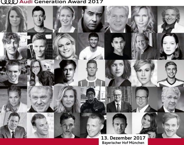 Wincent Weiss, Panorama, Lea van Acken, Sami Khedira, People, Auszeichnung, Auto, Audi Generation Award, Bild, Celebrities, Auto / Verkehr, München