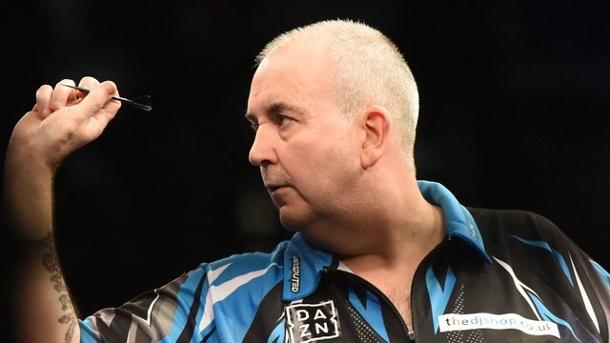 Sport, Dart, WM, Großbritannien ,Phil Taylor