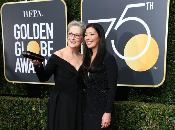 Meryl Streep,Ai-jen Poo ,News,Medien,Golden Globes, Hollywood