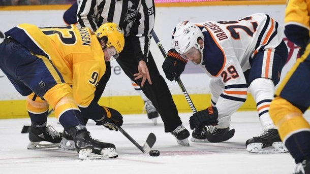 Sport, Eishockey, NHL, USA, Kanada ,Leon Draisaitl ,Nashville Predators