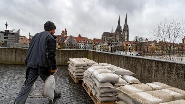 Nachrichten, Wetter, Hochwasser, Schifffahrt, Bayern, Grünenbach, Weiler-Simmerberg