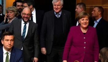 Union ,SPD,CDU,CSU, Politk,News,Angels Merkel,Horst Seehofer,Martin Schulz, Nachrichten