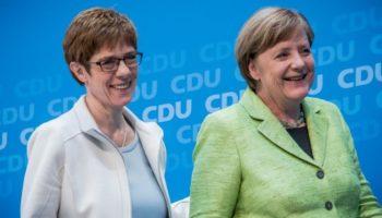 Angela Merkel,Partei,News,Politik,Annegret Kramp-Karrenbauer,CDU