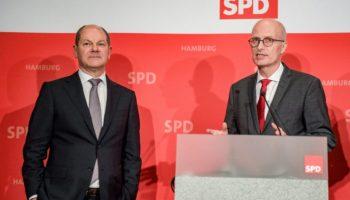 Hamburg,Nachrichten,Politik,Parteitag,SPD,Olaf Scholz,Peter Tschentscher