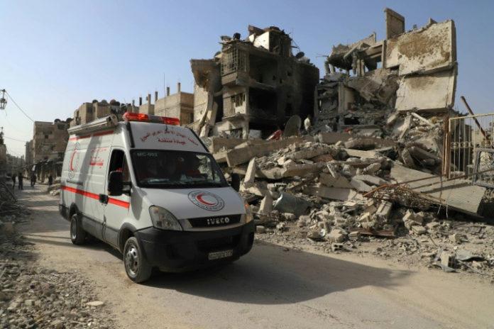 News,Außenpolitik,Ost-Ghuta,Luftangriffe,Rami Abdel Rahman. , Großbritannien,Medien,Russland