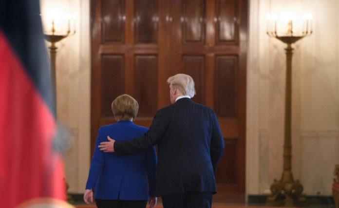 Weißen Haus,Bundeskanzlerin ,Angela Merkel,Präsident ,Donald Trump ,US-Strafzöllen,