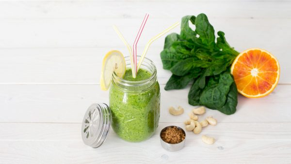 Bio Vitalpilze,Spinat-Cashew-Smoothie,,Smoothie,Essen,Trinken,Ernährung,MYKOGROUP
