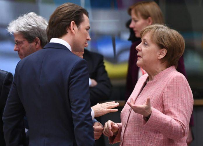 Österreichs Bundeskanzler,Bundeskanzlerin, Angela Merkel ,Berlin,Politik,Nachrichten,Sebastian Kurz,