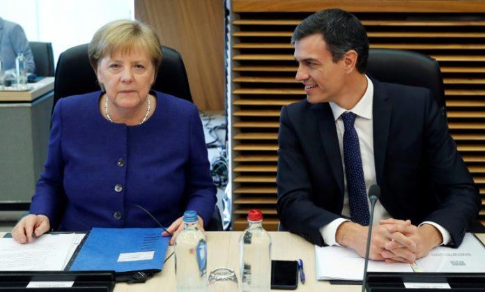 EU-Gipfelvorbereitung,Berlin,Nachrichten,Innenpolitik,Bundeskanzlerin ,Angela Merkel ,Pedro Sánchez,EU-Sondergipfel ,Flüchtlingspolitik