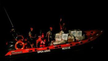 59 Flüchtlingen,Nachrichten, Italien,Malta ,Barcelona,Proactiva Open Arms,Flüchtlinge,Michael Farrugia