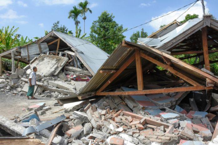 aktivem Vulkan gerettet,Erdbeben,Erdrutsch,Lombok, Ausland, Nachrichten,Vulkan,