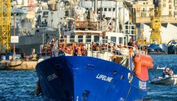 Lifeline,Malta,Flüchtlingshilfsschiff ,Kapitän Claus-Peter Reisch,Rechtsprechung,Nachrichten