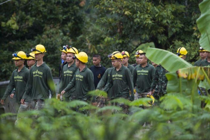 Abschluss Rettungsaktionthailändischer Höhle,Soldaten, Höhle in Thailand,Thailand ,Nachrichten,Ausland,Navy Seal,Chiang Rai, Passakorn Boonyaluck,schächte zu Kindern,,Vier