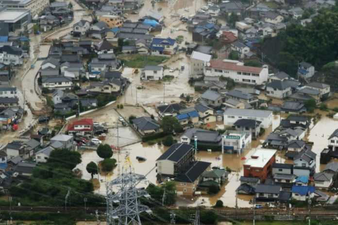 Unwettern in Japan,Japan,Nachrichten,Unwetter,Shinzo Abe ,Hiroshima, Ehime, Okayama ,Kyoto,Ausland