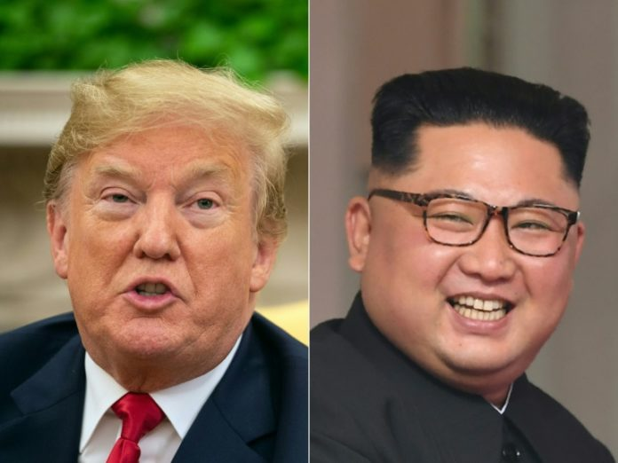 Weiße Haus,Präsident ,Donald Trump,Kim Jong Un,Politik,Ausland,Trumps mit Kim