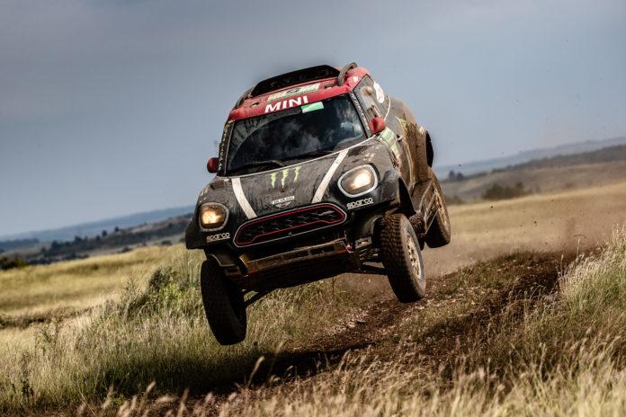 MINI erklimmt das Podest,Hungarian Baja 2018,MINI Motorsport,Sport,Motorsport,Silk Way Rally,MINI,John Cooper ,Rally,News,München