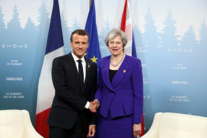 Emmanuel Macron , Theresa May ,Politik,Nachrichten,Südfrankreich.