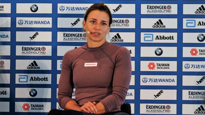 Rennrollstuhl-Weltrekord,Manuela Schär,BMW BERLIN-MARATHON,Event,Berlin,Sport,Laufsport