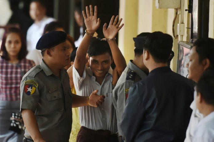 Kyaw Soe Oo,Myanmar,Ye Lwin,Reporter,Journalisten,Nachrichten