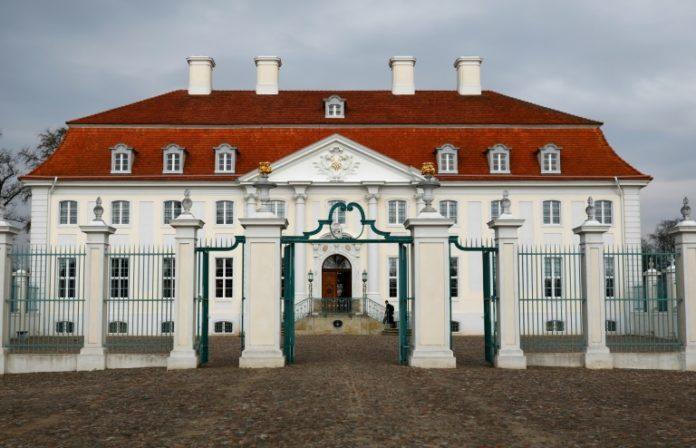 Schloss Meseberg, Brandenburg,Politik,Nachrichten,Bundeskanzlerin, Angela Merkel,Arbeitswelt ,Olaf Scholz , Peter Altmaier , Hubertus Heil